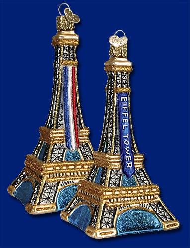 Old World Christmas® Eiffel Tower Ornament