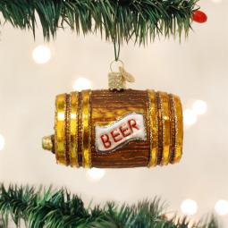 old world christmas beer keg ornament - Merck Family Old World Christmas