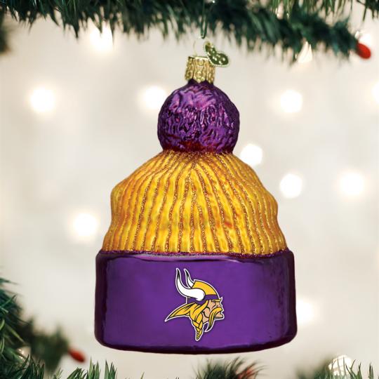 Old World Christmas® Minnesota NFL Football Beanie Ornament c2bd3be4e486